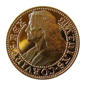 Medaila Matej Korvín - Lesk