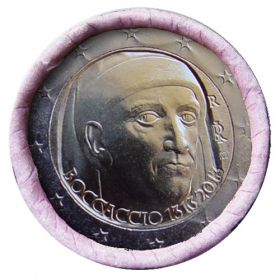 2 Euro Taliansko 2013 - Giovanni Boccaccio