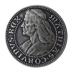 Medal Matthias Corvinus - Patinated