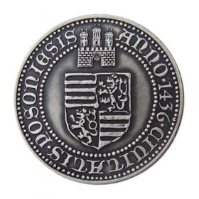 Medaila Žigmund Luxemburský - Patina