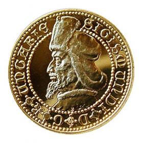 Medaila s kartou Žigmund Luxemburský - Lesk