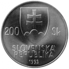 200 Sk / 1993 - 200th anniversary of the birth of Ján Kollár - BU