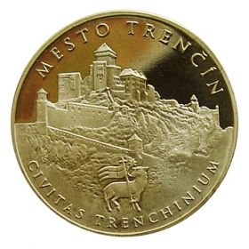 Medal with card - Matthew III Csak - Shine