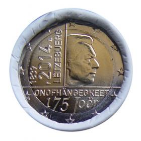 2 Euro / 2014 - Luxembursko - Nezávislosť