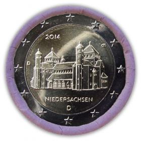 "2 Euro Nemecko ""D"" 2014 - Dolné Sasko: Kostol sv. Michala"