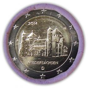 "2 Euro Nemecko ""A"" 2014 - Dolné Sasko: Kostol sv. Michala"