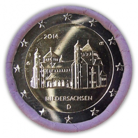 2 Euro / 2014 - Germany - Lower Saxony : Michaelis Church 'G'