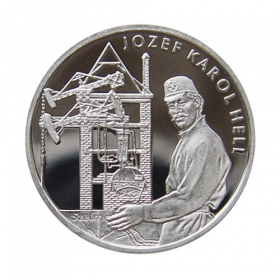 Medal Jozef Karol Hell - Proof