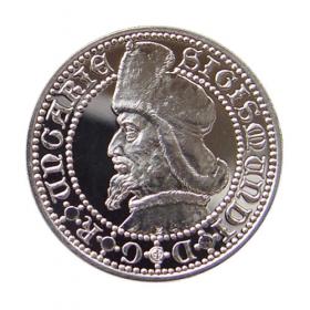 Strieborná medaila Žigmund Luxemburský - Proof