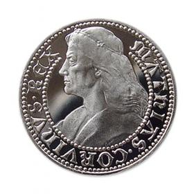 Strieborná medaila Matej Korvín - Proof