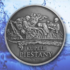 Medal Piestany - Patinated