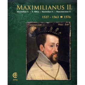 Maximilian II, Holy Roman Emperor - Set of coin replicas (gold and silver plated copper) Russian version