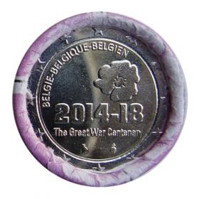 2 Euro / 2014 - Belgium - World War I.