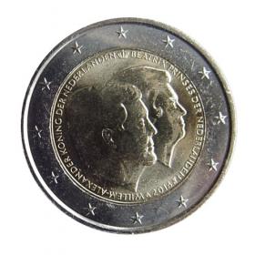 2 Euro / 2014 - Netherland - Double Portait