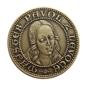 Medal Master Paul of Levoca - Patinated