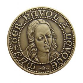 Medaila s kartou - Majster Pavol z Levoče - Patina