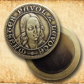 Medaila s magnetom - Majster Pavol z Levoče - Patina