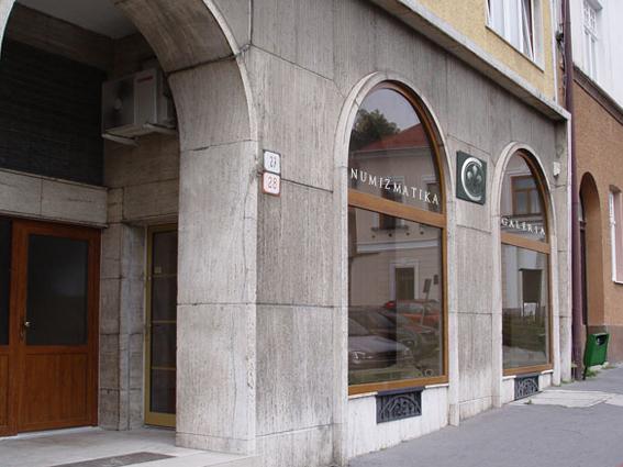 Predajňa Numizmatika Kremnica